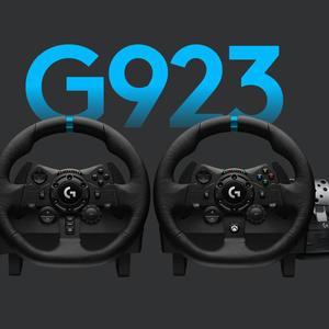 罗技 Logi G923 赛车游戏方向盘